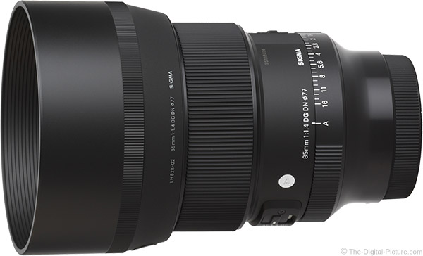 Sigma 85mm f/1.4 DG DN Art Lens Product Images