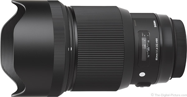 Sigma 85mm f/1.4 DG HSM Art Lens Product Images
