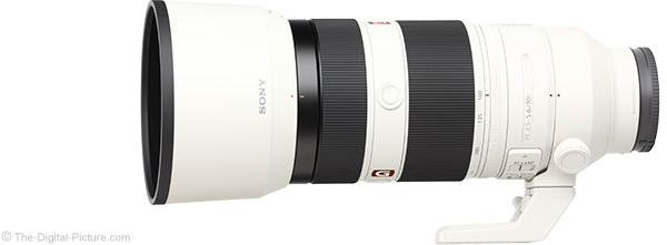 Sony FE 100-400mm GM OSS Lens Product Images
