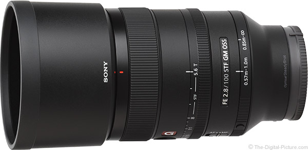 Sony FE 100mm f/2.8 STF GM OSS Lens Product Images