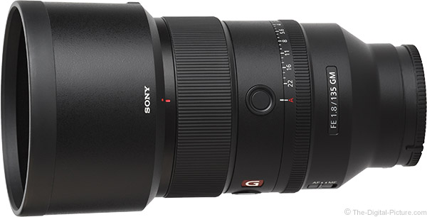 Sony FE 135mm f/1.8 GM Lens Product Images