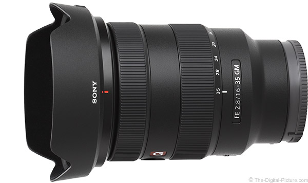 Sony FE 16-35mm f/2.8 GM Lens Product Images