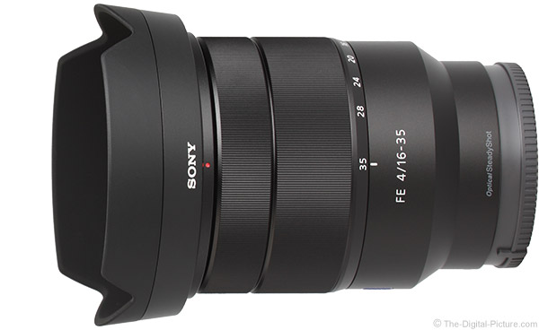 Sony FE 16-35mm f/4 ZA OSS Lens Product Images