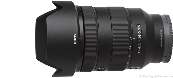 Sony FE 24-105mm f/4 G OSS Lens Product Images