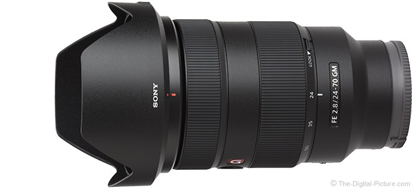 Sony FE 24-70mm f/2.8 GM Lens Product Images