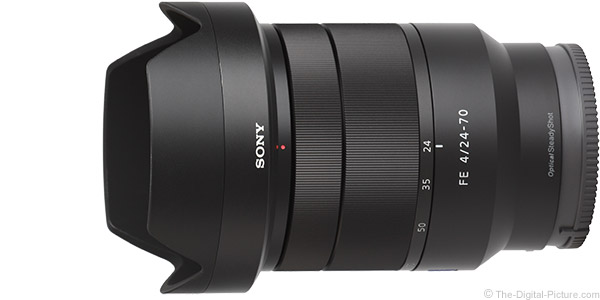 Sony FE 24-70mm f/4 ZA OSS Lens Product Images