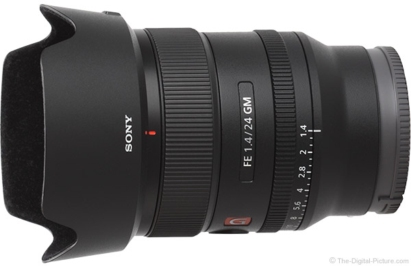 Sony FE 24mm f/1.4 GM Lens Product Images