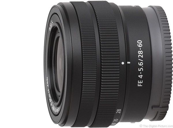 Sony FE 28-60mm f/4.5-5.6 Lens Product Images