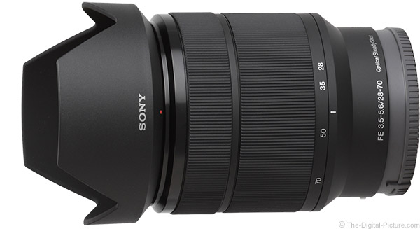 Sony FE 28-70mm f/3.5-5.6 OSS Lens Product Images