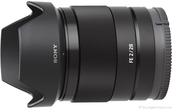 Sony FE 28mm f/2 Lens Product Images