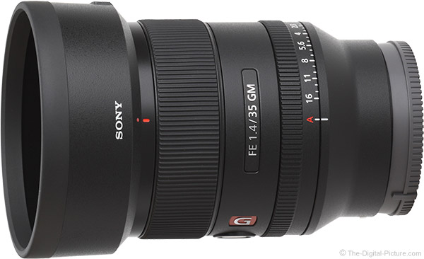 Sony FE 35mm f/1.4 GM Lens Product Images