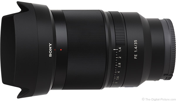 Sony FE 35mm f/1.4 ZA Lens Product Images