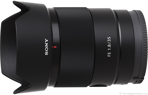 Sony FE 35mm f/1.8 Lens Product Images