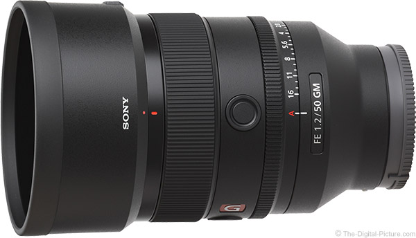 Sony FE 50mm f/1.2 GM Lens Product Images