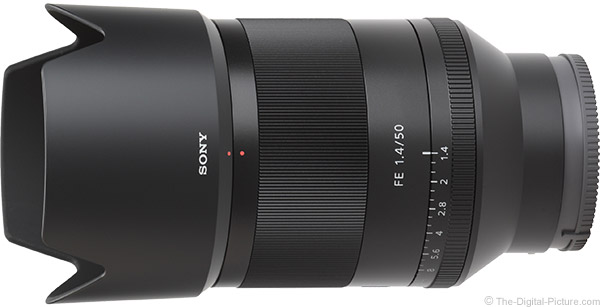 Sony FE 50mm f/1.4 ZA Lens Product Images