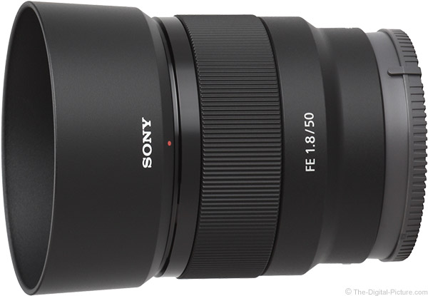 Sony FE 50mm f/1.8 Lens Product Images