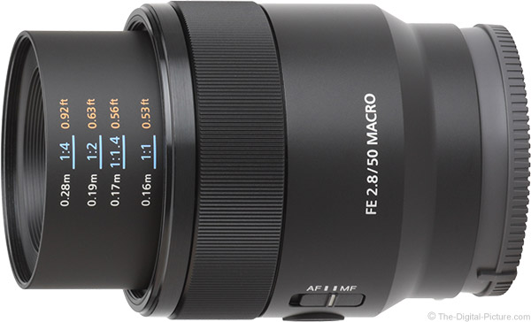 Sony FE 50mm f/2.8 Macro Lens Product Images