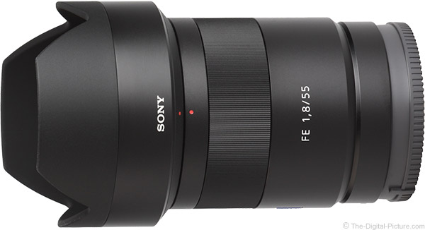 Sony FE 55mm f/1.8 ZA Lens Product Images