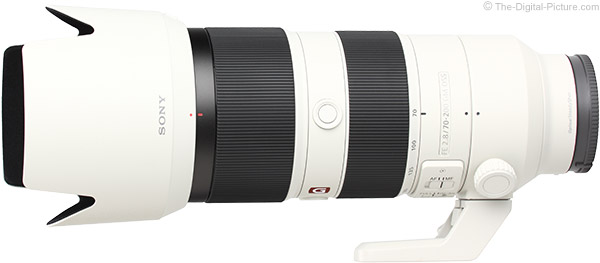 Sony FE 70-200mm f/2.8 GM OSS Lens Product Images