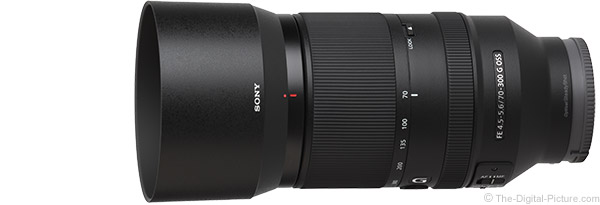 Sony FE 70-300mm f/4.5-5.6 G OSS Lens Product Images