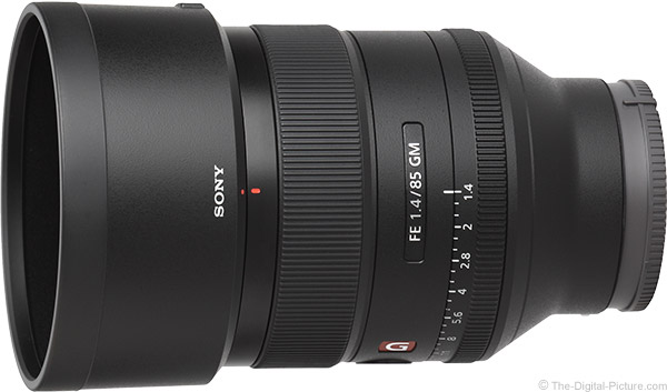 Sony FE 85mm f/1.4 GM Lens Product Images