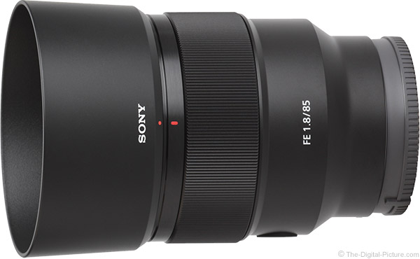 Sony FE 85mm f/1.8 Lens Product Images