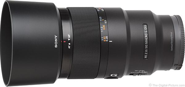 Sony FE 90mm f/2.8 Macro G OSS Lens Product Images