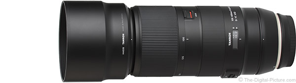Tamron 100-400mm f/4.5-6.3 Di VC USD Lens Product Images