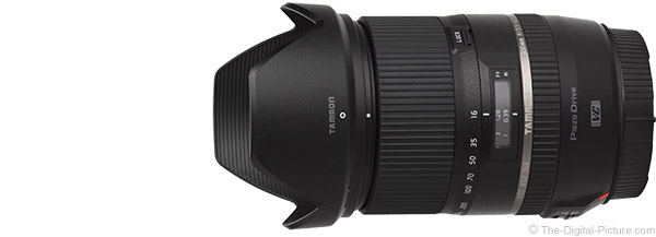 Tamron 16-300mm f/3.5-6.3 Di II VC PZD Lens Product Images