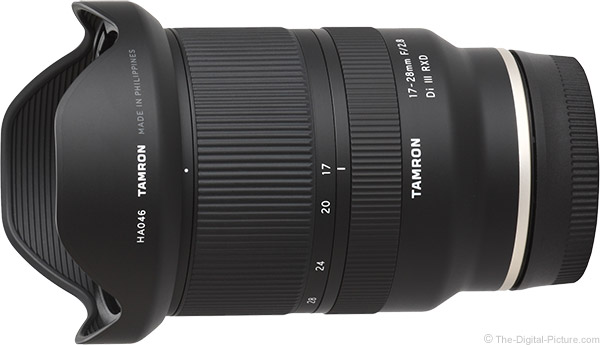 Tamron 17-28mm f/2.8 Di III RXD Lens Product Images