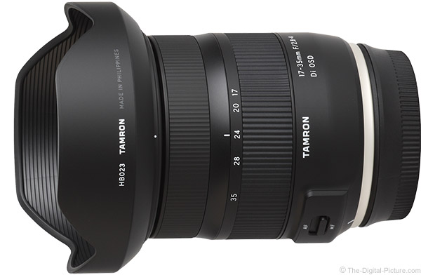 Tamron 17-35mm f/2.8-4 Di OSD Lens Product Images