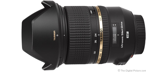 Tamron 24-70mm f/2.8 Di VC USD Lens Product Images