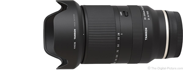 Tamron 28-200mm f/2.8-5.6 Di III RXD Lens Product Images