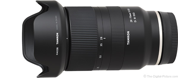 Tamron 28-75mm f/2.8 Di III RXD Lens Product Images
