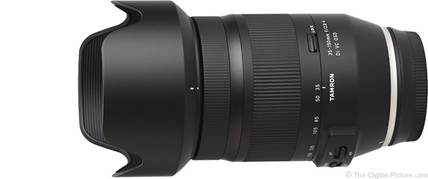 Tamron 35-150mm f/2.8-4 Di VC OSD Lens Product Images