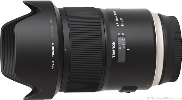 Tamron 35mm f/1.4 Di USD Lens Product Images