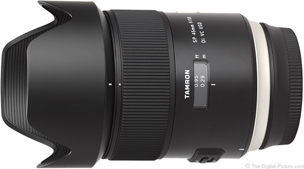 Tamron 45mm f/1.8 Di VC USD Lens Product Images