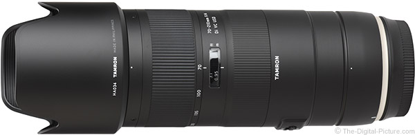 Tamron 70-210mm f/4 Di VC USD Lens Product Images