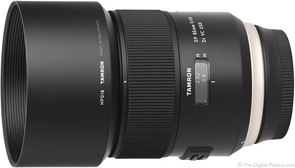 Tamron 85mm f/1.8 Di VC USD Lens Product Images