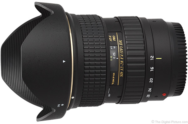 Tokina 12-28mm f/4.0 AT-X Pro DX Lens Product Images