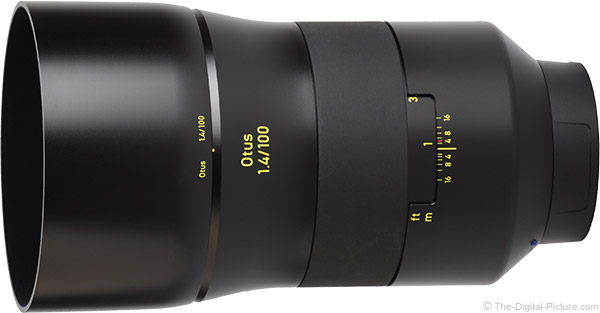 Zeiss 100mm f/1.4 Otus Lens Product Images
