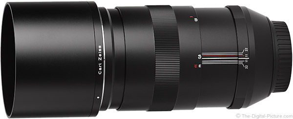Zeiss 135mm f/2 Apo Sonnar T* ZE Lens Product Images