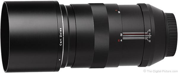 Zeiss 135mm f/2 Apo Sonnar T* ZE Lens Product Images