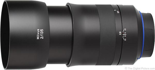 Zeiss 135mm f/2 Milvus Lens Product Images