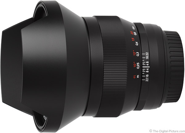 Zeiss 15mm f/2.8 Distagon T* ZE Lens Product Images