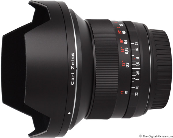 Zeiss 18mm f/3.5 Distagon T* ZE Lens Product Images