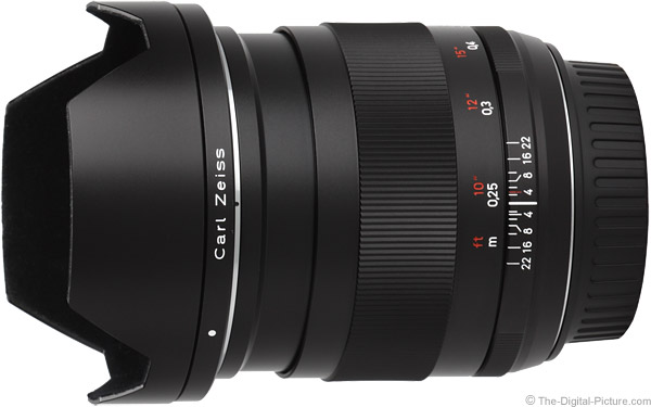 Zeiss 25mm f/2.0 Distagon T* ZE Lens Product Images