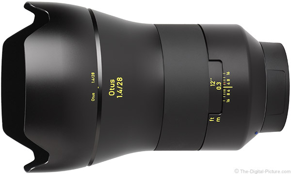 Zeiss 28mm f/1.4 Otus Lens Product Images