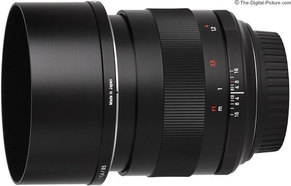 Zeiss 85mm f/1.4 Planar T* ZE Lens Product Images