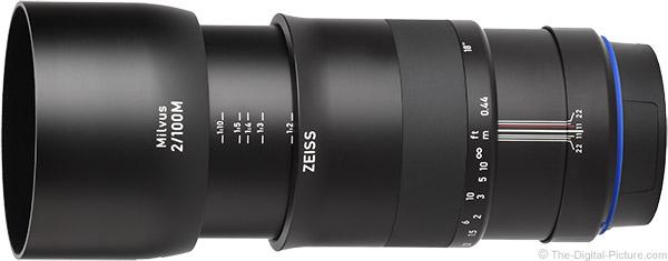 Zeiss Milvus 100mm f/2M Lens Product Images